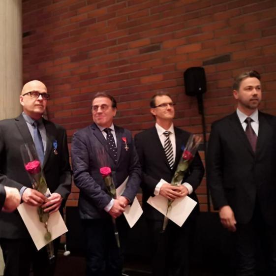Suomen Leijonan Ritarikunnan ansioristi